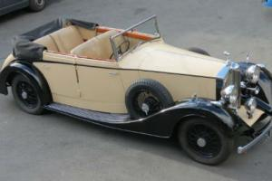 1936 Rolls-Royce 20/25 Vanden Plas Allweather Tourer GTK55  Photo