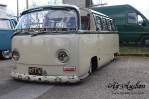 Vw bay window camper custom built