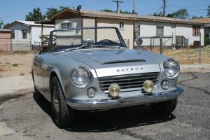 Datsun Roadster 1965 Body off restored