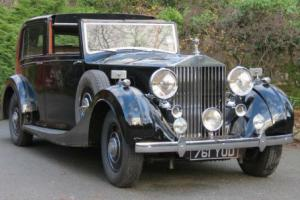 1937 Rolls-Royce Phantom III Sedanca de Ville 3CM1  Photo
