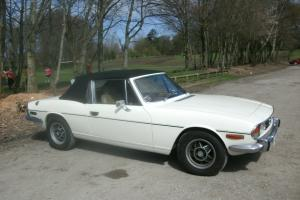 1977 TRIUMPH STAG MANUAL IN GOOD CONDITION