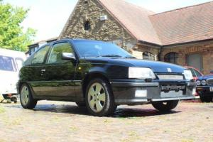 1988 VAUXHALL ASTRA GTE 2.0 8v BLACK Lovely Low Mileage example 12 Months Mot