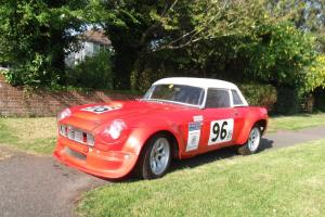 MGB Lightweight Race Car (V8 Bodied)  Photo