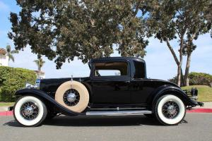 1931 Cadillac 370-a 2-Door Rumble Seat Sport Coupe V-12