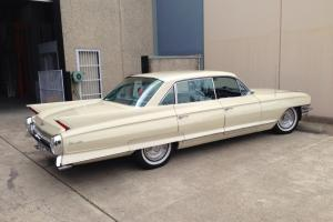 Cadillac DE Ville 1962 4D Sedan 3 SP Automatic 6 4L Carb