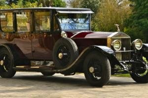 1927 Rolls Royce Phantom 1 Limousine.  Photo