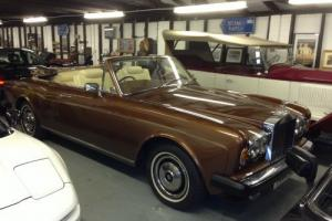 ROLLS ROYCE Corniche Convertible Classic Car  Photo