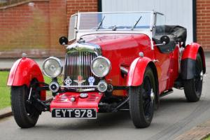 1935 Aston Martin 1 1/2 Litre Long Chassis Tourer.  Photo