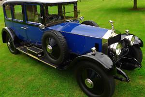 Rolls-Royce Silver Ghost Arthur Mulliner Limousine  Photo