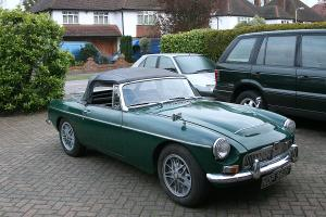 MGC Roadster 1968 B.R.G 3 Former Keepers 55,000 Miles From New Needs Restoration