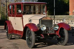 1924 Rolls Royce 20hp Barker Limousine. Very Period.