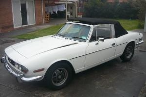 Triumph Stag 1977 Convertible 3 SP Automatic 3L Twin Carb Matching Numbers