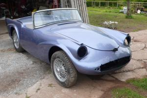 Daimler Dart SP250 (1962) Right Hand Drive Unfinished Restoration Project
