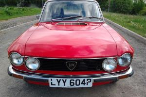 WONDERFUL ,1976 ROSSO CORSA ,LANCIA FULVIA COUPE 1.3 S NO RESERVE