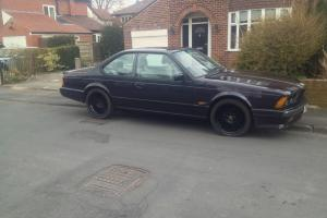 1989 E24 BMW 635csi Highline Motorsport Edition, Shadowline Option