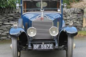 1926 Rolls-Royce 20hp Hooper 6 Light Saloon GUK34