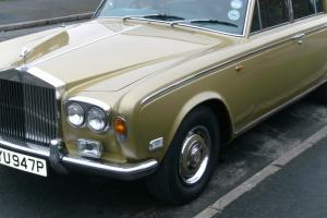 1976 ROLLS ROYCE GOLD mk1 chrome bumper model long mot and taxed  Photo