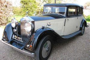 Rolls-Royce 20/25 Windover Sports saloon