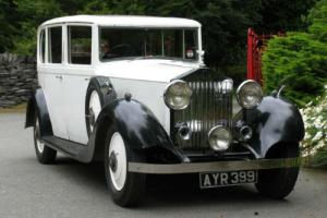 1934 Rolls-Royce 20/25 Barker Limousine GNC45  Photo