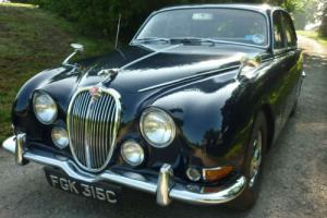 Jaguar S TYPE Classic 1965 3.4 Auto in Blue with Grey Leather