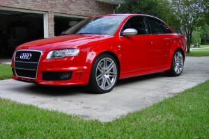 1 of 99 Misano Red RS4's!!  Lowest mileage car for sale Photo