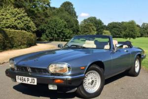 1988 Jaguar XJ-S 5.3 V12 CONVERTIBLE - 23,000 MILES FROM NEW