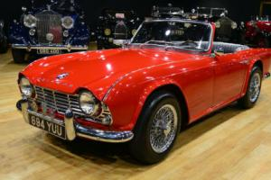 1962 Triumph TR4 LHD Convertible. USA supplied when new.