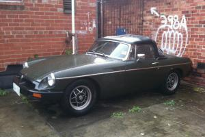 MGB 1977 Rubber Nose Manual Roadster Overdrive in Brunswick, VIC