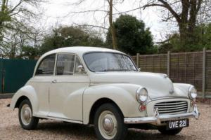 MORRIS MINOR 1000 SALOON - EXCELLENT EARLY CAR WITH 1098CC UPGRADE !!