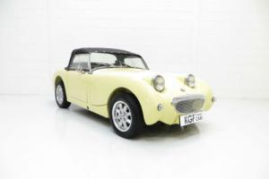 A Very Early Production Austin-Healey Frogeye Sprite in Amazing Condition