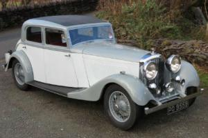 1934 Bentley 3 1/2 ltr Park Ward Sports Saloon B54AH