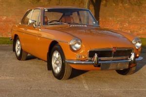 MGB GT 1974 PX COVERED ONLY 58,000 FROM NEW Photo
