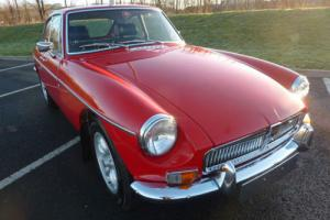 MGB GT 1974 FERRARI RED £7,000 + EXPENDITURE COMPLETED DEC 2013 STUNNING Photo