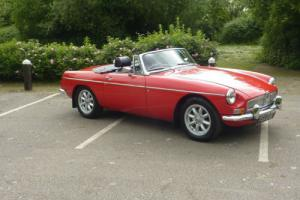 MGB ROADSTER 72 RESTORED TO SHOW STANDARDS COVERED 4,000 MILES SINCE - STUNNING Photo