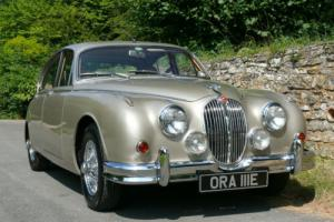 1967 Jaguar Mk2 3.4 MOD - Silver Sand - 3 Owners - Superb Throughout Photo