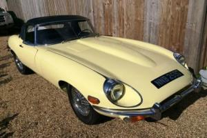 1969 Jaguar E-Type 4.2 Series II Roadster Photo