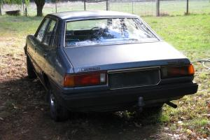 Mitsubishi Sigma GL 1981 4D Sedan Manual 2 0LT Carby in Red Hill, VIC