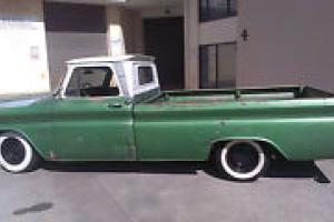 Chevrolet 1965 C10 Longbed Pick UP Cool Patina Ratrod 350 4 SPD Manual