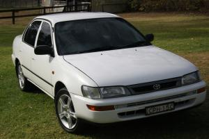 1996 Toyota Corolla Sedan 70 000km With OCT Rego in Windsor, NSW