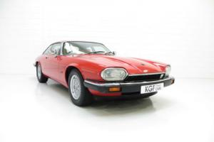 An Elegant and Classic Jaguar XJS 4.0 Litre Coupe with Just 68,306 Miles