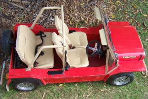 Leyland Moke 1980 Californian Galvanised Disk Brakes Registered 4 Seater 998 in Victoria Point, QLD Photo