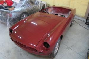 1974 MG B 1.8 Roadster - Chrome Bumper Model Undergoing Restoration Photo