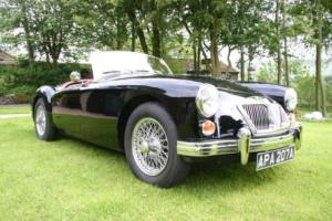 1961 MGA Mark II (1600) BLACK MG A Photo