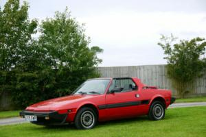 Fiat X1/9 Only 39,000 Miles From New. Bertone Built Car