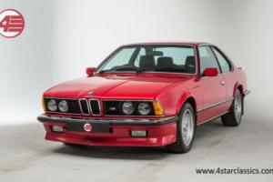 FOR SALE: BMW E24 M635 CSi