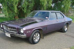 Holden HQ SS Ultra Violet Rare Prior TO GTS With Books in Evanston Park, SA