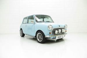 A One-Off Creation Austin Mini Cooper Replica known as 'Baby Blue'