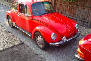 Volkswagen 1 6L Beetle 1975 2D Sedan 4 SP Manual 1 6L Carb in Yarra Junction, VIC