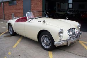 1957 MGA Roadster 1800cc, 5 Speed Gearbox, Fully Restored