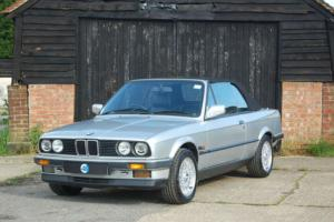 FOR SALE: BMW E30 325i Convertible